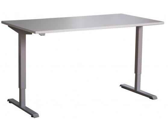 Výškově stavitelný stůl WORK zajistí komfort při práci v sedě i ve stoje