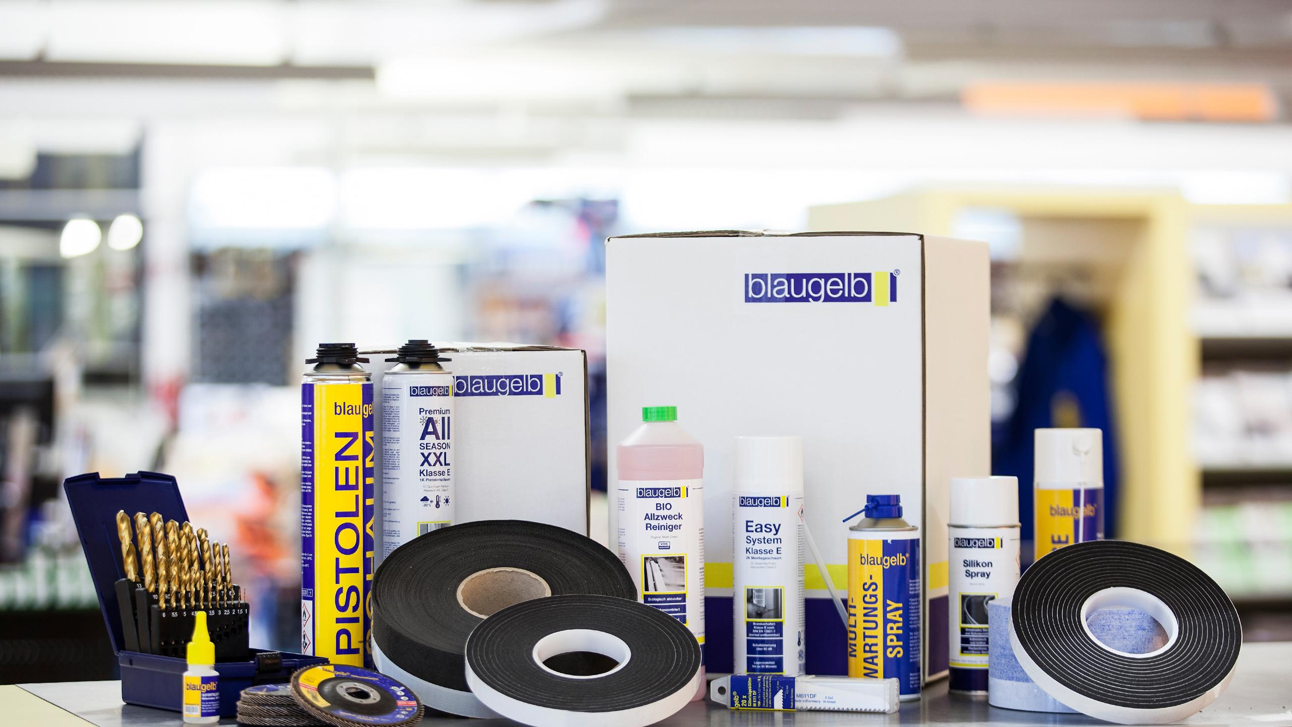 blaugelb - kvalitní značkové výrobky Kladno - vše pro dveře a okna