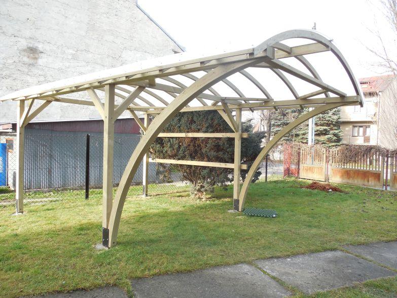 Pavilony a garážové přístřešky se stylovým designem