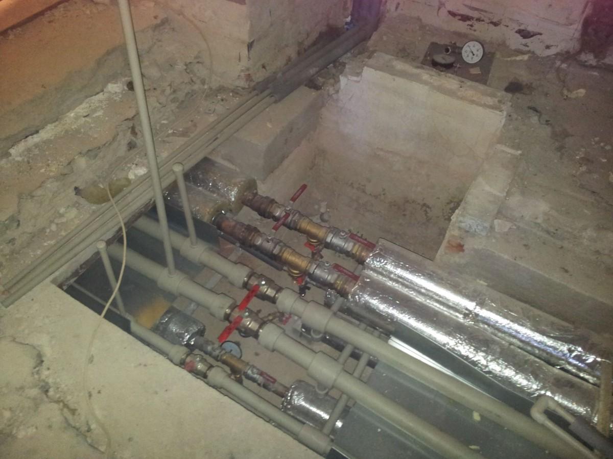 Technická dokumentace na technické zázemí budovy - rekonstrukce rozvody tepla
