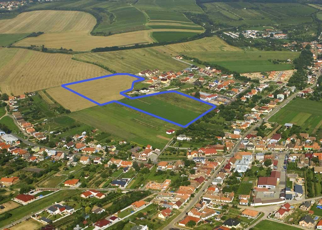 Lokalita výstavby - Nový Šaldorf