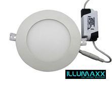 vestavný LED panel - kruhový