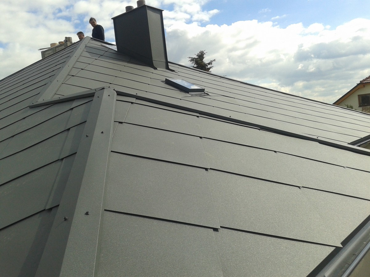 Opravy měděné a mosazné střechy Vysočina