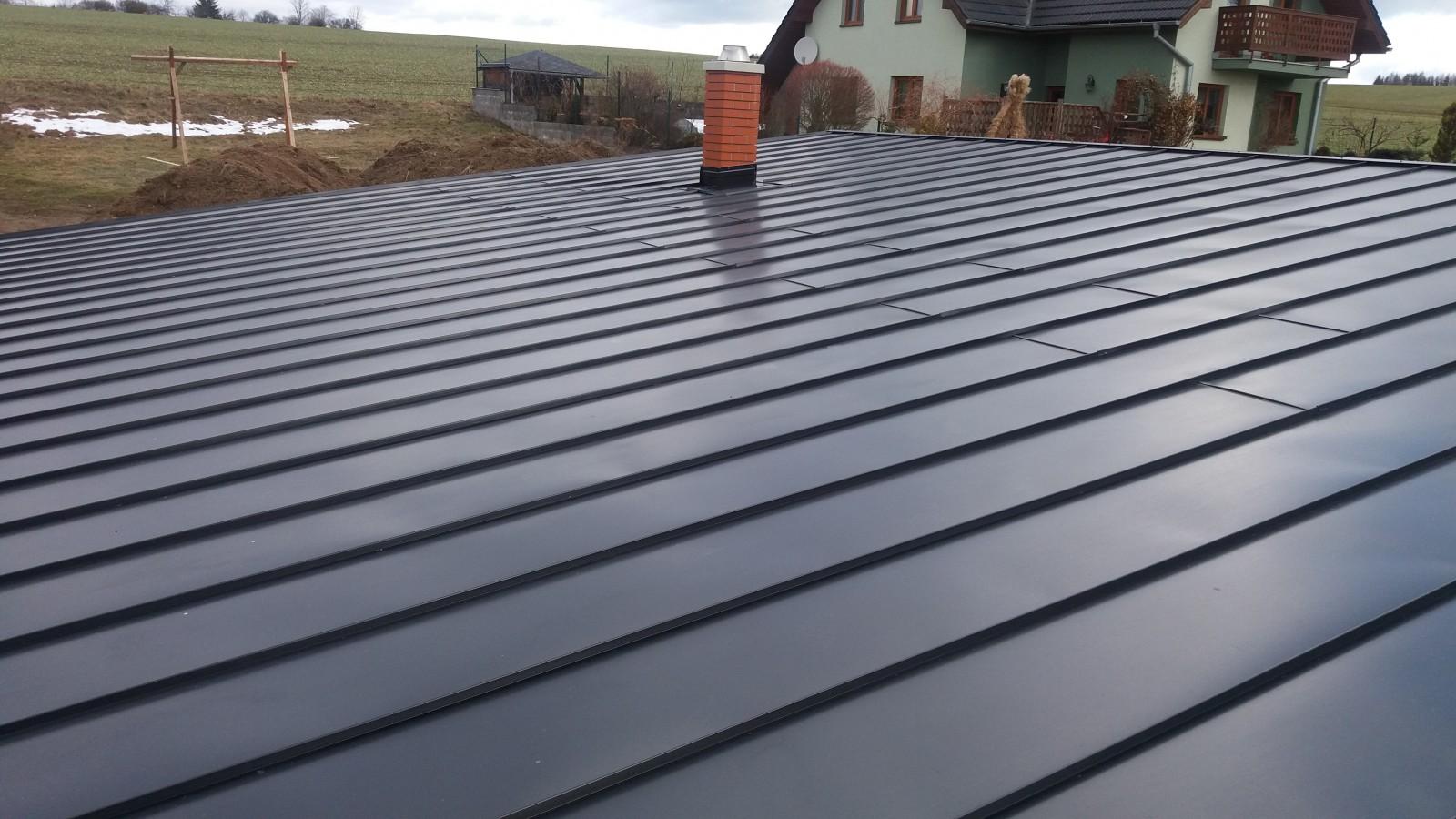 Klempířské práce, oprava střechy Vysočina