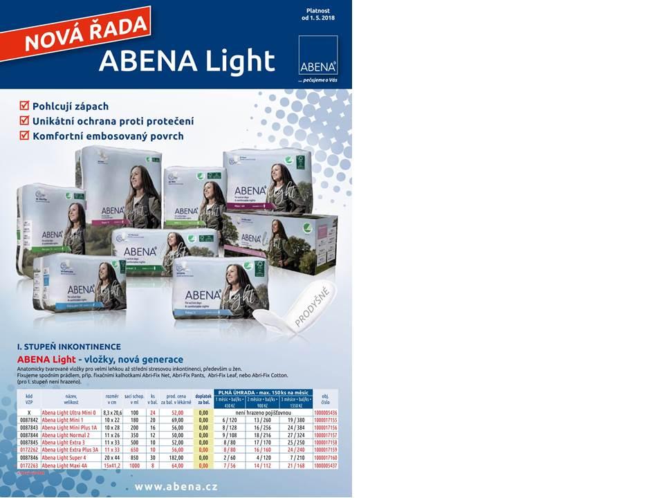Nová řada ABENA Light