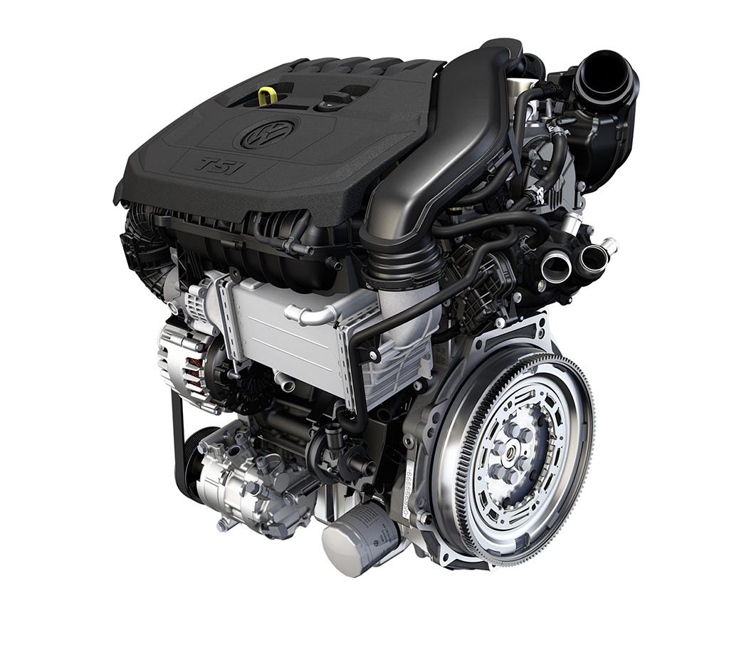 Zážehový motor úsporný jako TDI díky hospodárnému mikrohybridnímu pohonu