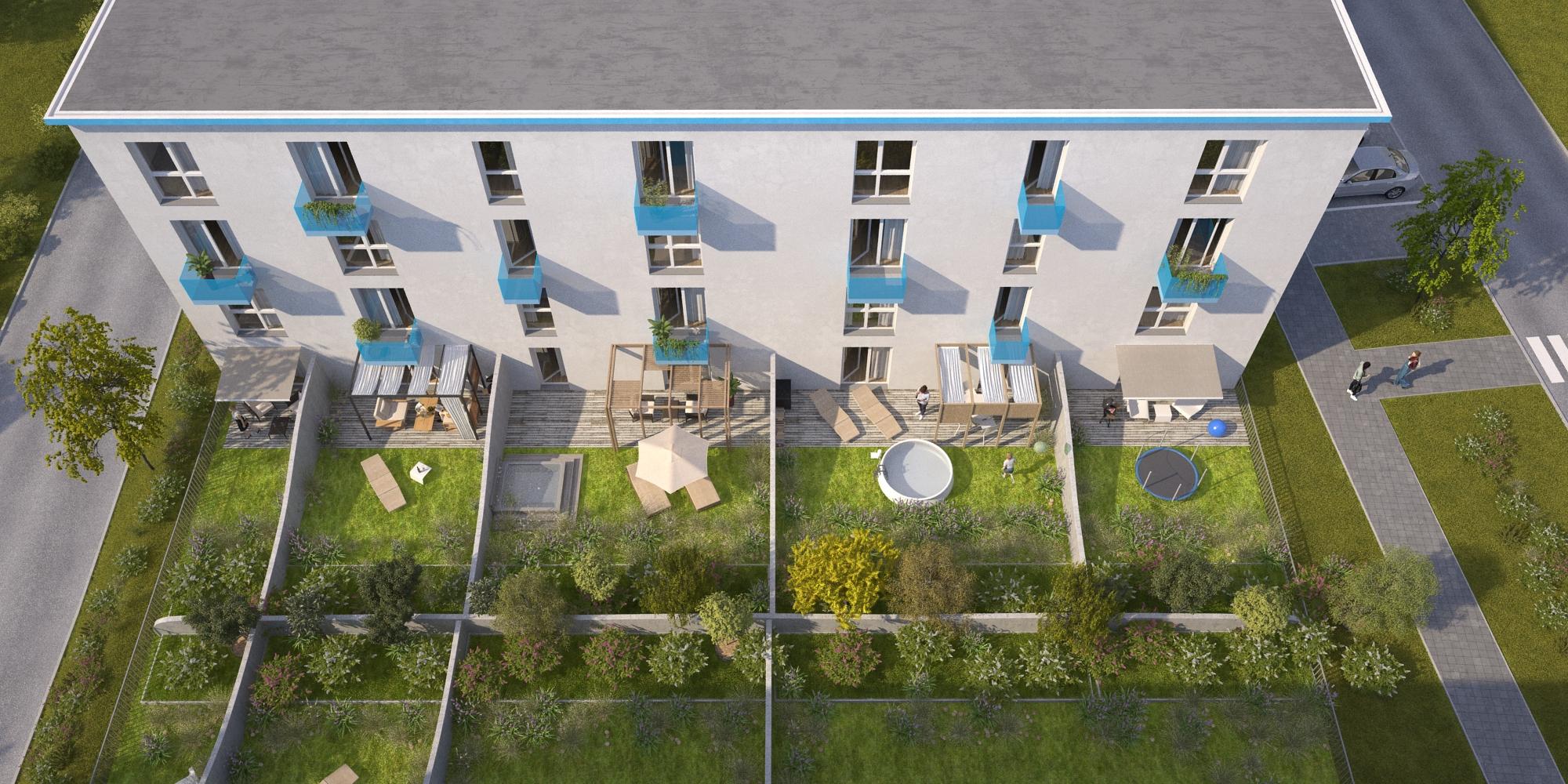 Nový projekt bytů a domů pro luxusní bydlení