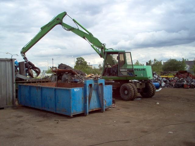 Technické vybavení k odvozu odpadů