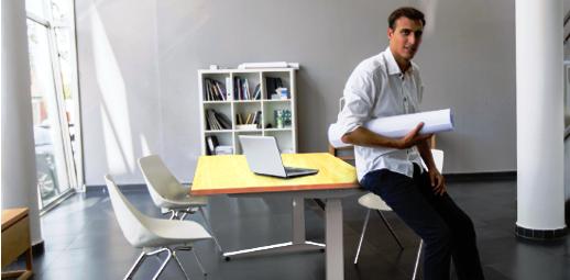 Výškově nastavitelné stoly ALNAK® s elektrickým pohonem