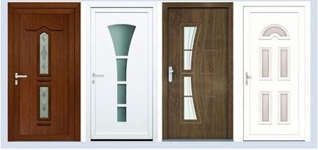 Vzorová ukázka  dveří  z modelové řady Perito