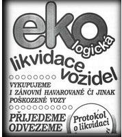 ekologická likvidace vozu - Uherské Hradiště
