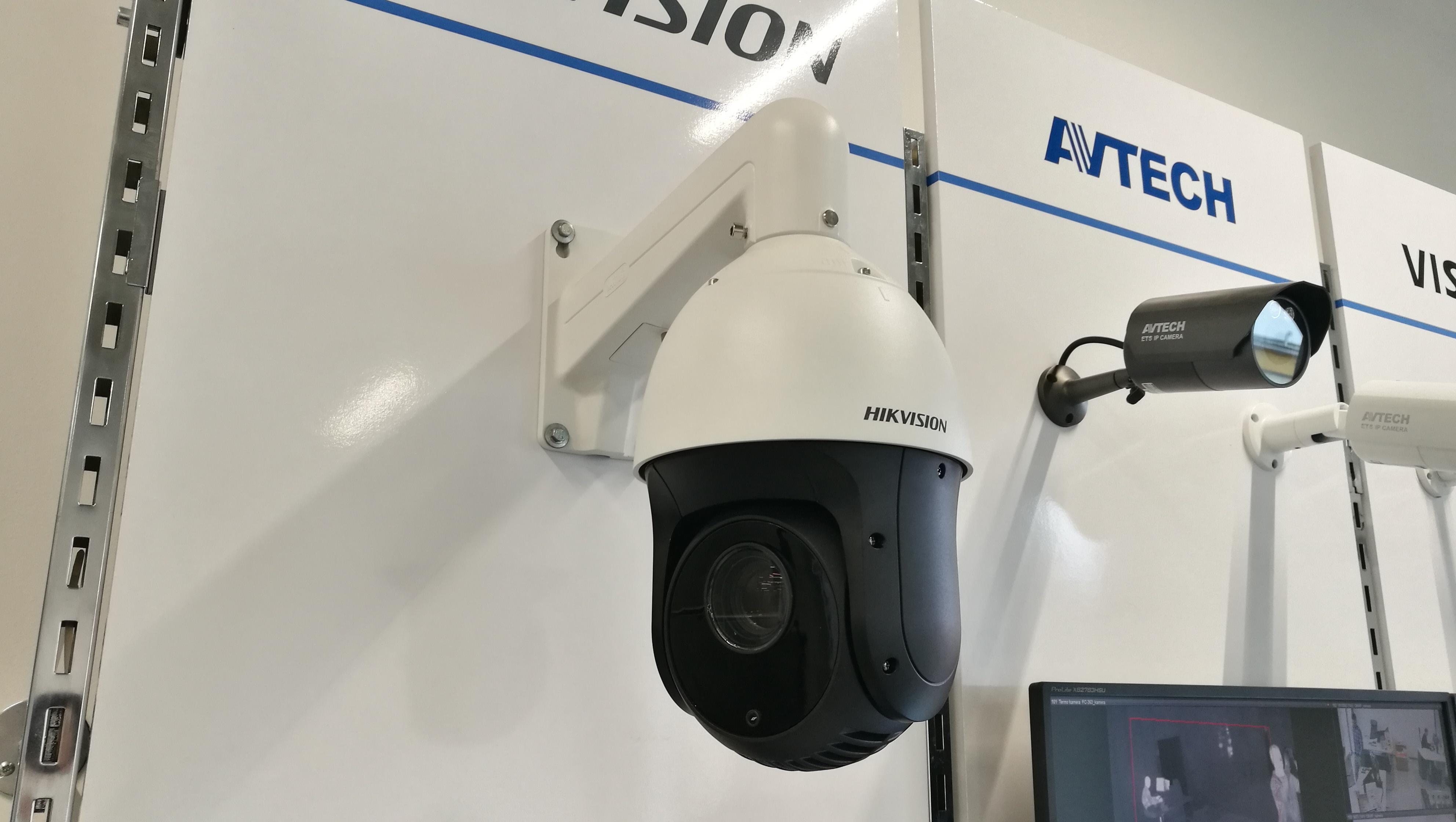 O bezpečnost a pořádek se postará kamerový systém
