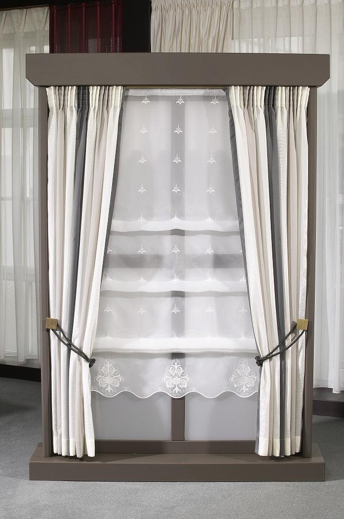 Jarní slevy na garnýže a vybrané typy záclon, bytový textil Zlín