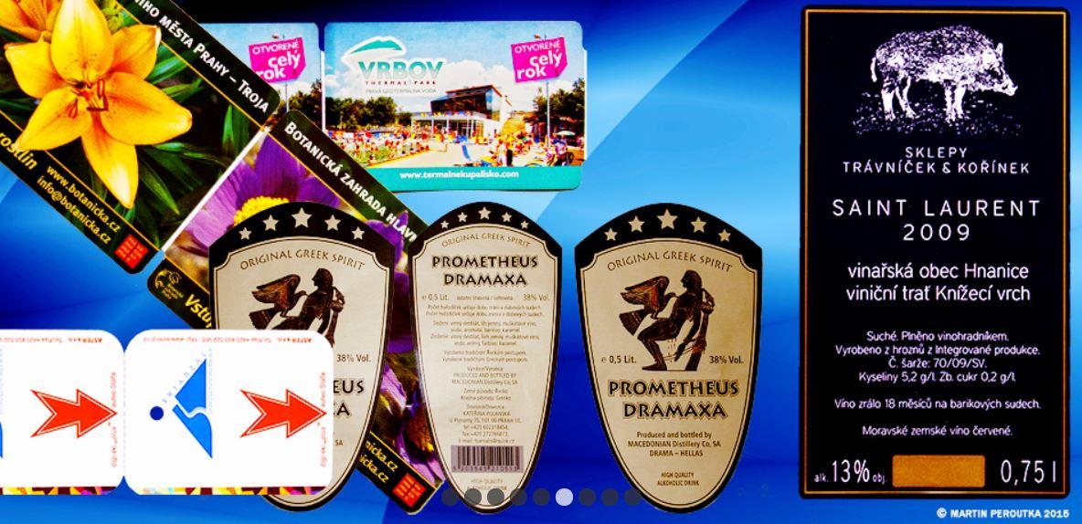 Zakázková polygrafická a papírenská výroba, etikety, tiskopisy, papírové trubice a dutinky