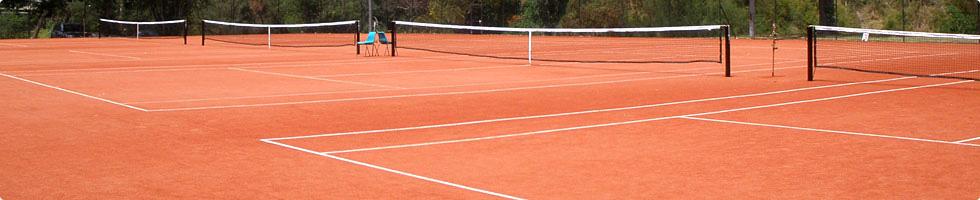 Tenisové kurty s kvalitním povrchem
