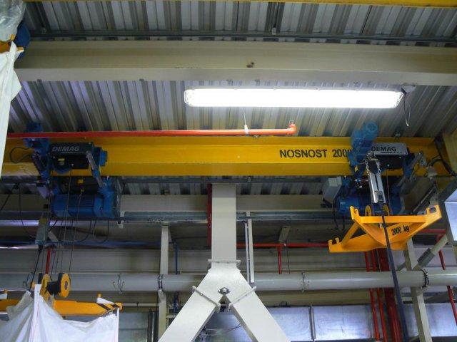 Strojírenská a zámečnická výroba, traverzy, výroba zdvihacích strojů a zařízení