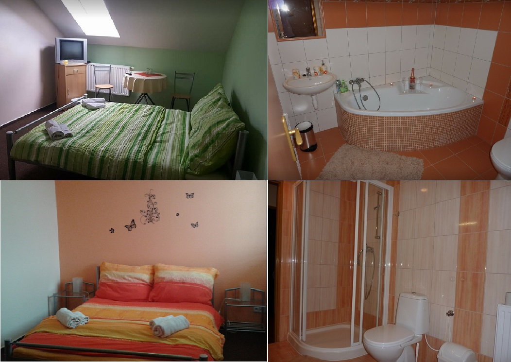 ubytování pro rodiny i pro páry - Uherský Brod, Luhačovice