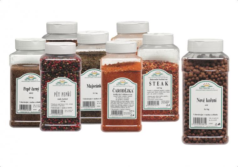 Bezlepkové koření celiakům dodá v bio kvalitě český výrobce BENKOR