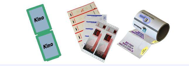 Lístky a vstupenky s ochranou proti padělání