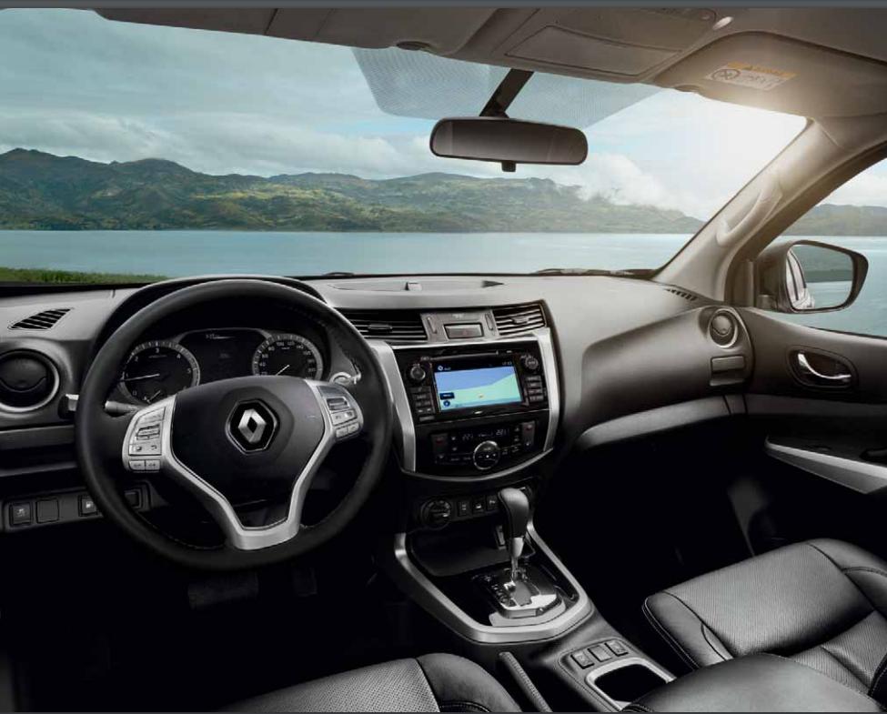 Vkusný interiér vozu Renault ALASKAN