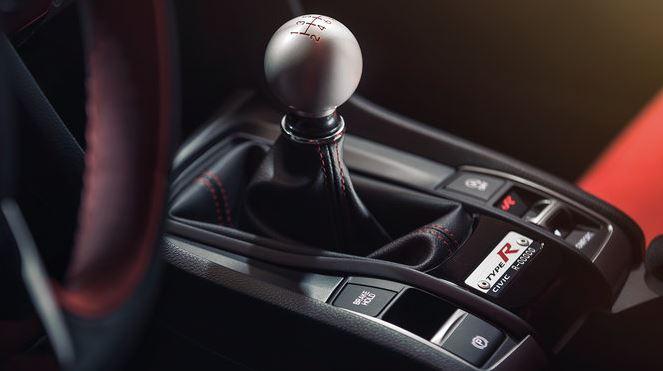 Interiér vozu Honda Civic typ R