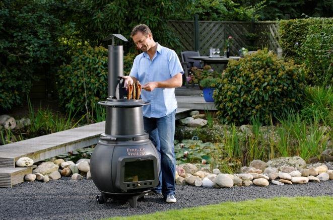Zahradní krb a gril - dokonalé grilování a dokonalý design