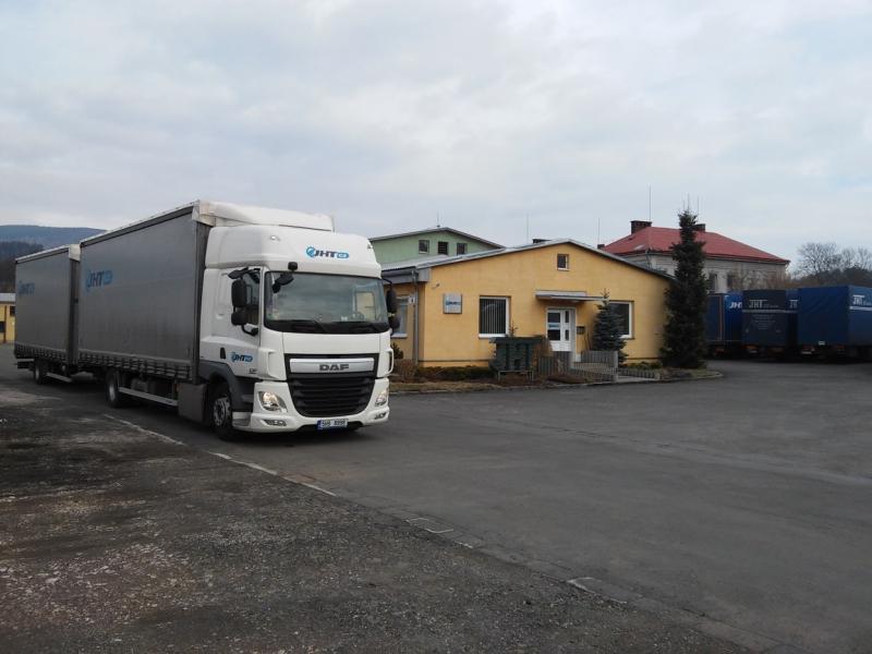 Autodoprava, spedice, logistika Mladé Buky - Dopravní služby JHT CZ