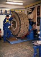 Pneuservis, opravy pneu, výměna pneumatik Konice, Prostějov