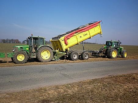 Rostlinná výroba, pěstování obilovin, řepky, řepy a kukuřice