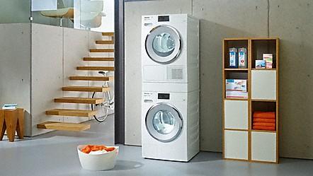 Domácí spotřebiče MIELE, pračky, sušičky, varné desky, kávovary
