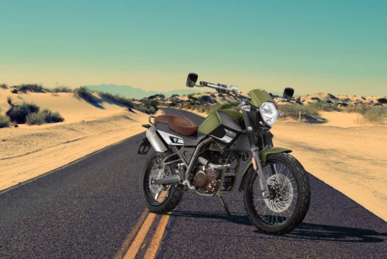 Moto UM Renegade Scrambler