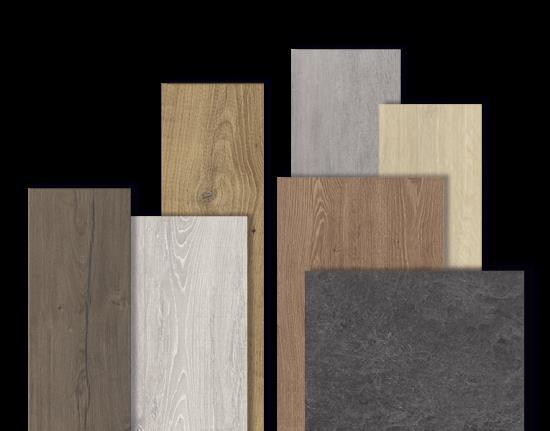 Sortiment laminátových podlah
