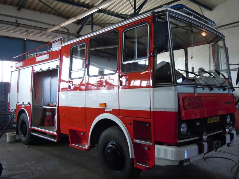 Modernizace hasičských vozů Kolín – repase, opravy a modernizace