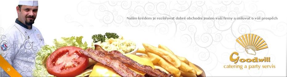 Catering Brno, rauty, párty servis pro veletrhy, společenské akce, svatby