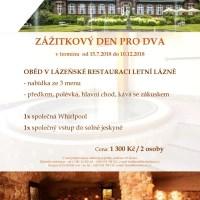 Last minute pobyty w apartamentach w górskim spa w Czechach