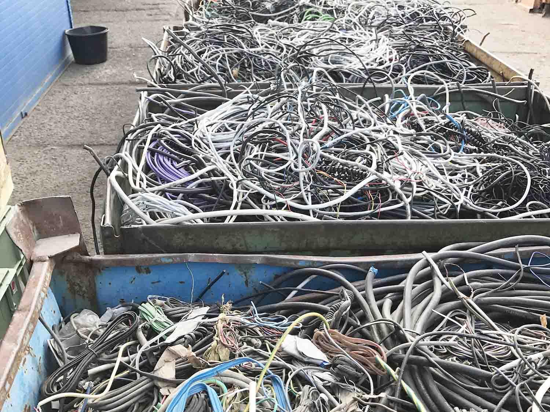 Likvidace a recyklace kabelů Tuklaty