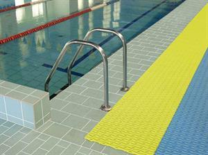 bazénové rohože - hygienická bezpečnostní plastová rohož