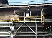 METALLURGICAL & STEEL SERVICE s.r.o., Ostrava, výroba, dodávka, instalace zábradlí, lávky, dráhy