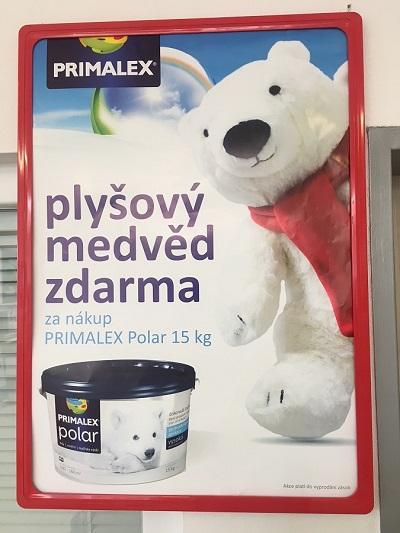 """Primalex POLAR Bílý - nejvyšší stupeň """"polární"""" bělosti"""