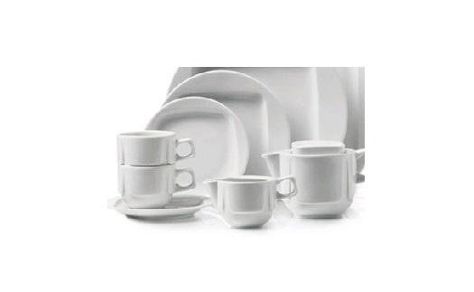 Porcelán (talíře, mísy, misky, hrnky ...)