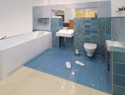 Vybavení koupelny, sanitární keramika, dlažby, obklady Liberec.
