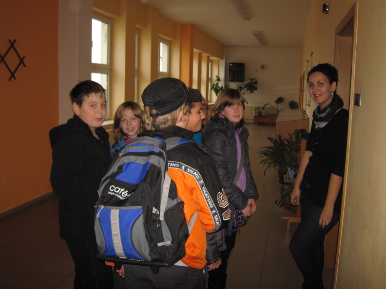 Studenti a uchazeči Obchodní akademie Stříbro