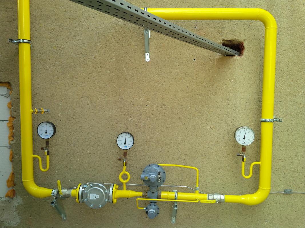 Plynoinstalatérské práce