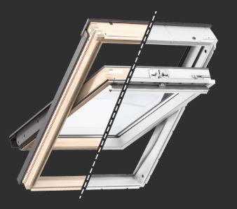 Střešní okna VELUX s horním ovládáním
