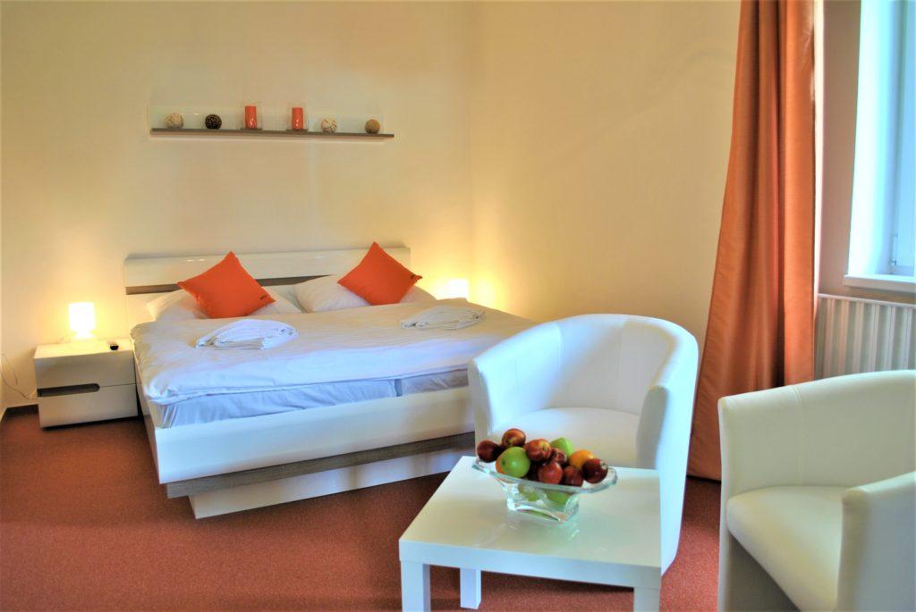 Ubytování v luxusním Wellness apartmánu Vám zajistí relaxaci, odpočinek a soukromí