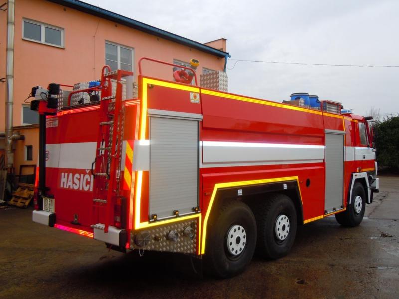 Kontrola zařízení a požární techniky Kolín