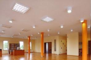Realizace vestavných mřížkových LED svítidel