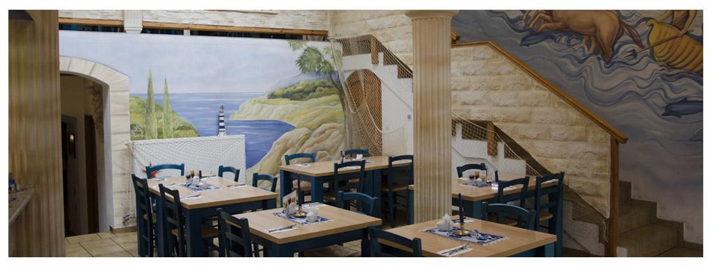 Atmosféru dovolené si můžete připomenout v Řecká restauraci Poseidon