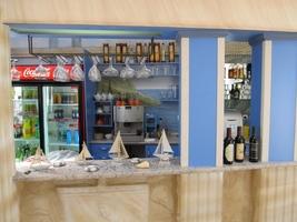 Příjemné prostředí Řecké restaurace Poseidon v Písku