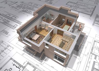 Projekce staveb, architektonické služby